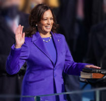 Kamala Harrris sworn in as VP